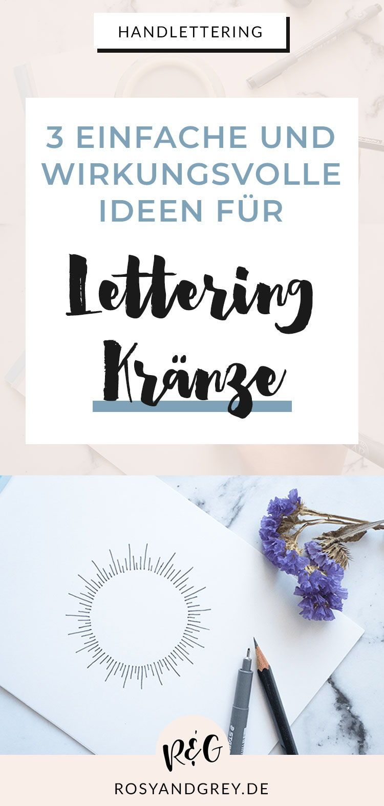 Photo of Designing hand lettering wreaths: step by step