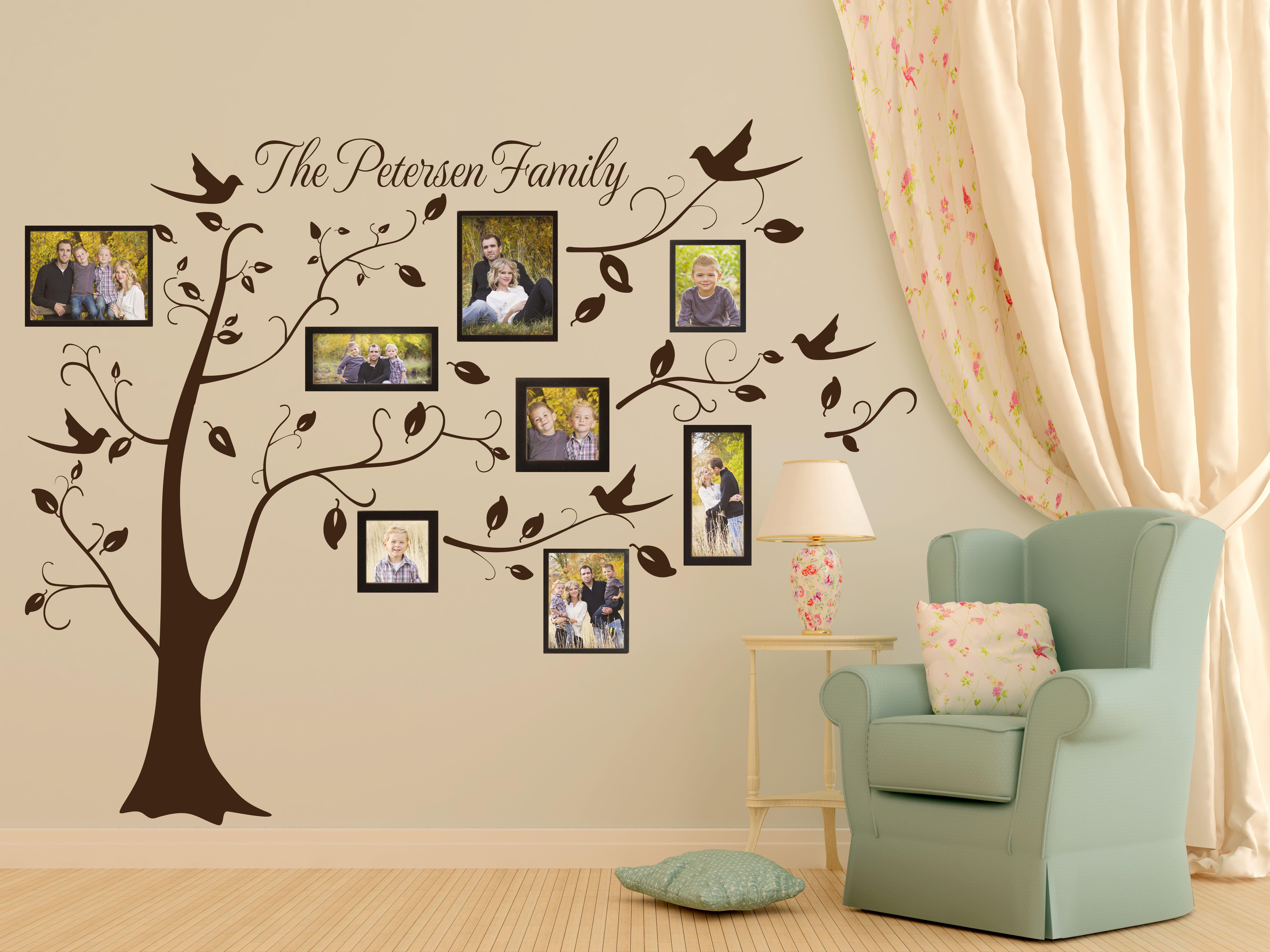Personalized Family Picture Tree | Képkeretek | Pinterest