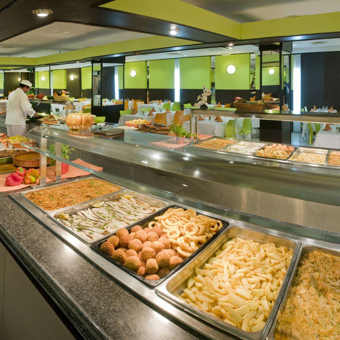 Restaurante Buffet De Cocina Internacional Bar En El Hotel