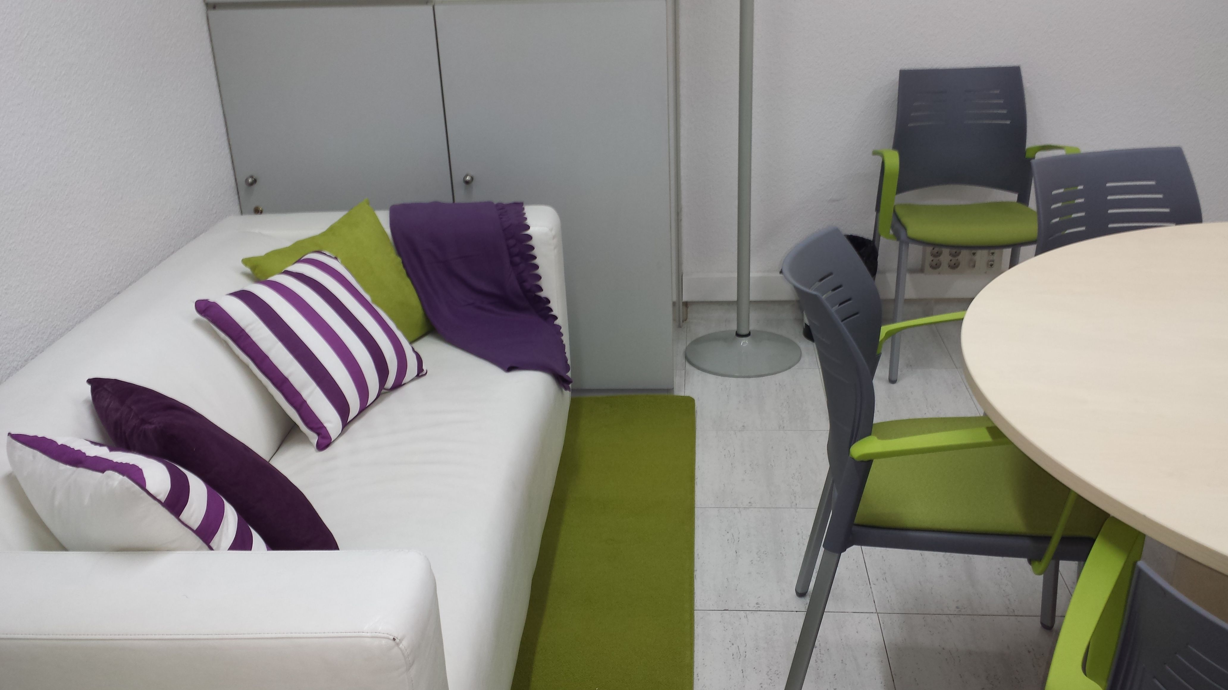 Sala de visionado - Queremos que estés cómodo