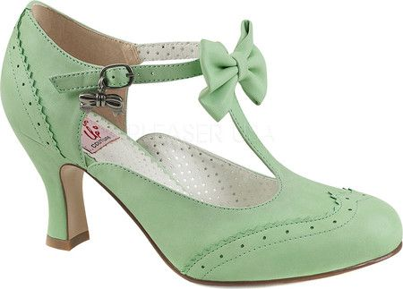 Pin Up Couture Flapper 11 T-Strap Mary Jane
