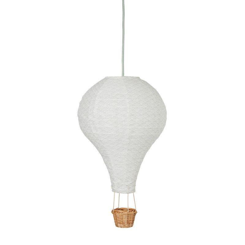 Cam Cam Heissluftballon Lampe Grey Wave Luftballon Lampe Ballonlichter Luftballons