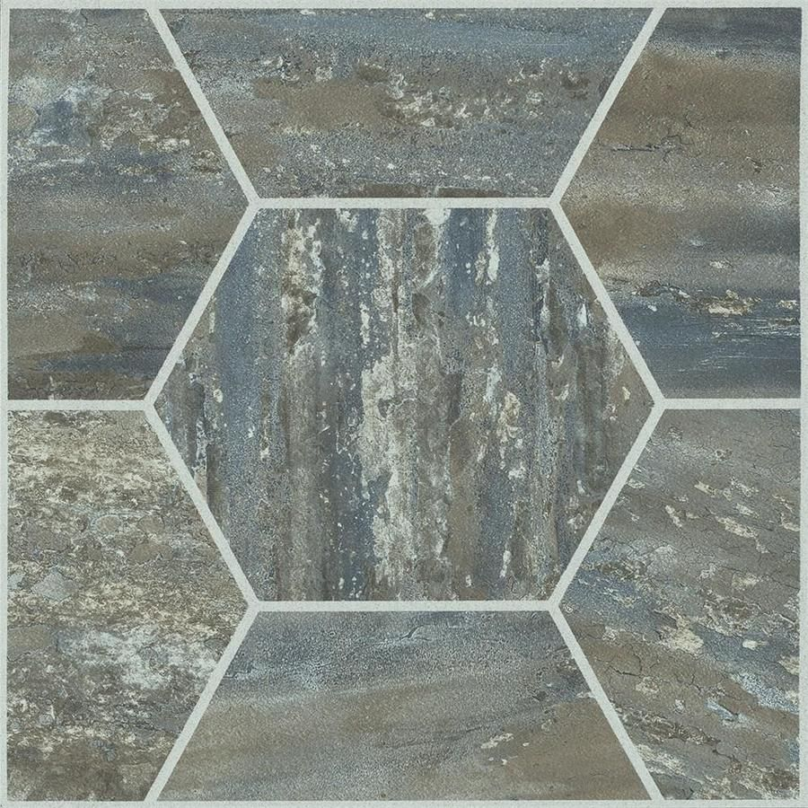 Armstrong Flooring Terraza 12 In X 12 In Cooled Mocha Peel And