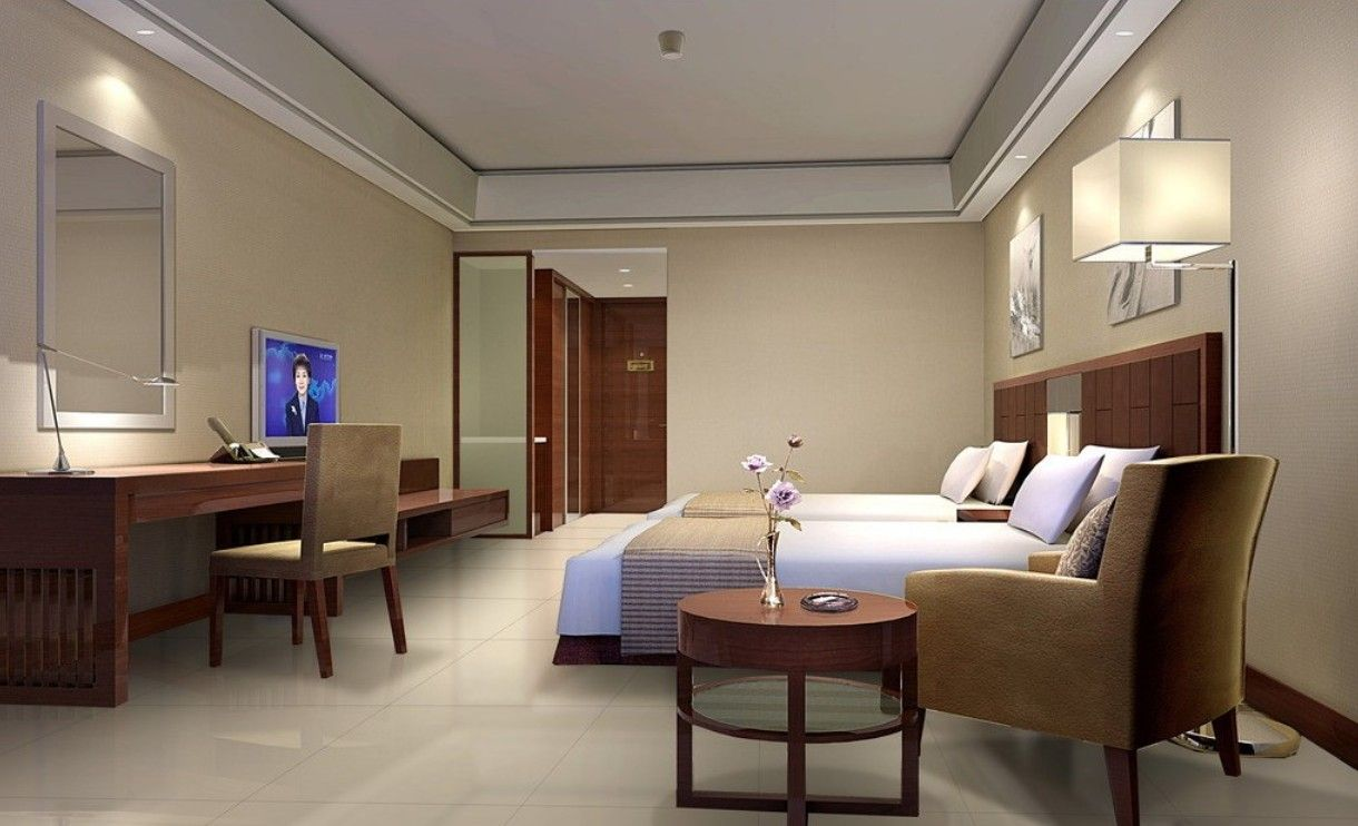 Interior Design Hotel Rooms Set Image Review