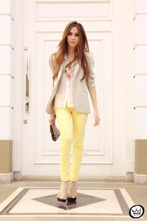 Yellow Pants - Fashion Coolture