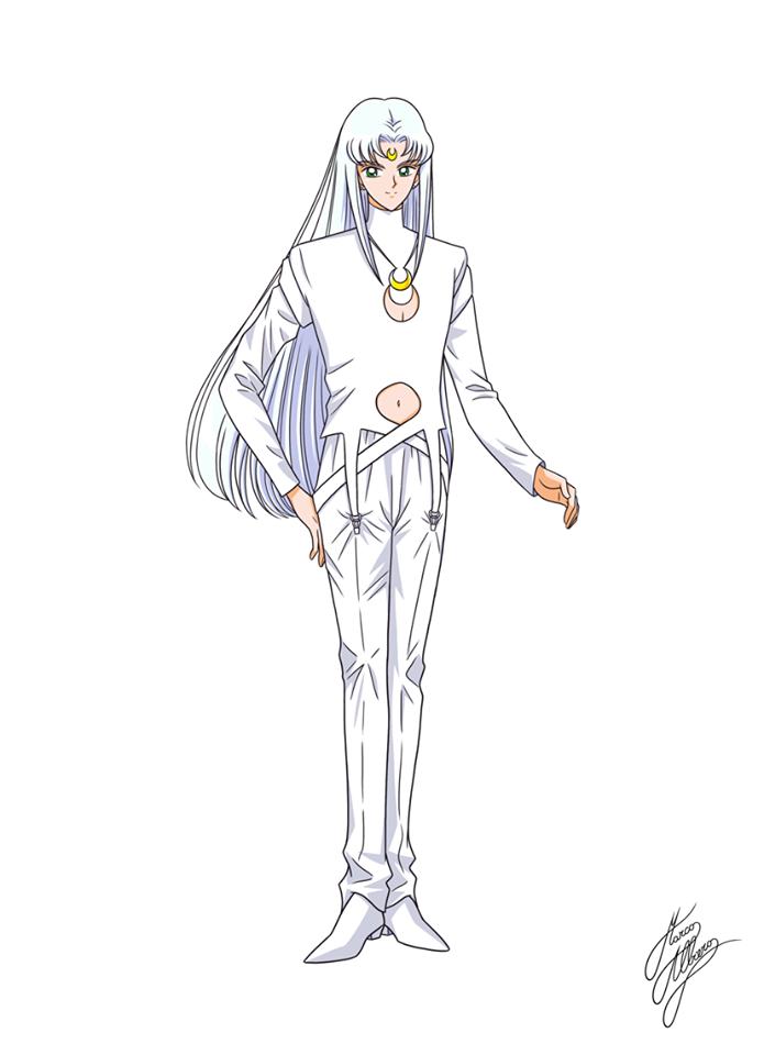 Marco Albiero Artemis Humano Smst Sailor Moon Stars Sailor