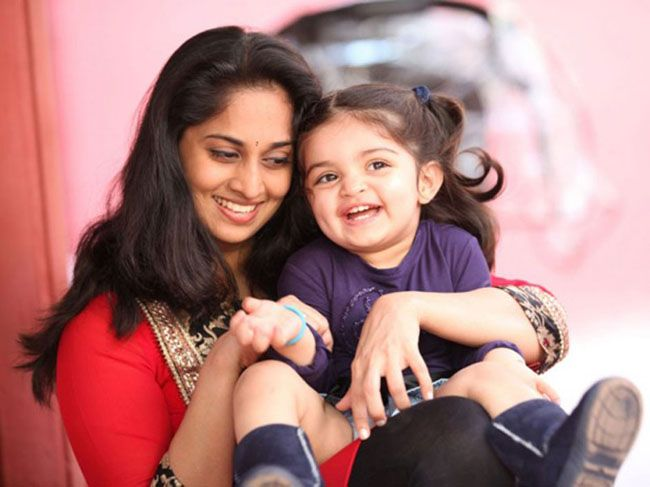 Shalini Ajith Kumar with Daughter Anoushka  Photoshoot