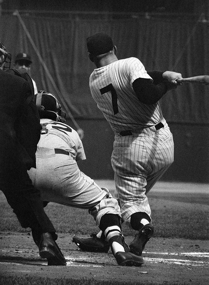 Photo of Rare SI Photos of Mickey Mantle
