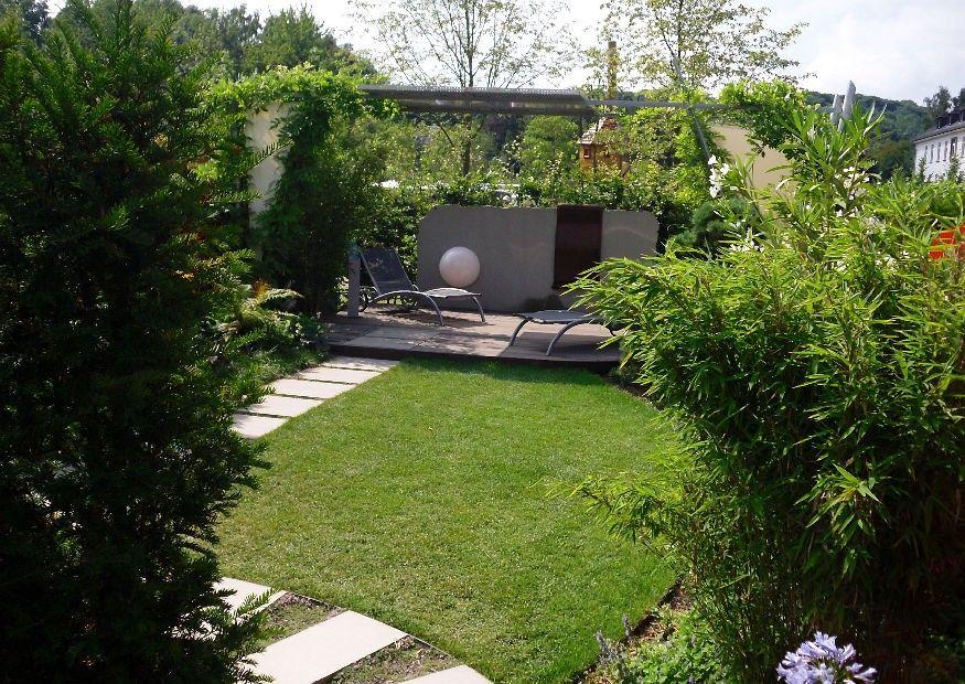 Kleine Garten Optisch Vergrossern Garten Kleiner Garten Garten Ideen