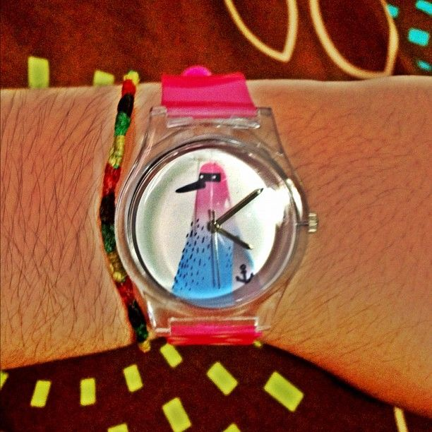 @michelletoledo1#new #watch #may28th #wostore #pink #bird #anchor #cute @wo_