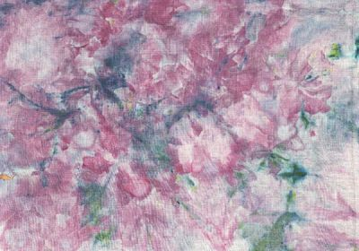 ice dyed linen