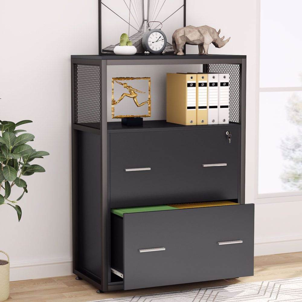 2 Drawer File Cabinet With Lock Large Modern Lateral Filing Cabinet 150 In 2020 Filing Cabinet Lateral File Cabinet Office File Cabinets