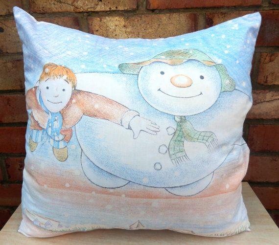 Raymond Briggs The Snowman Christmas Tree Decorations: The Snowman Raymond Briggs Vintage Fabric By