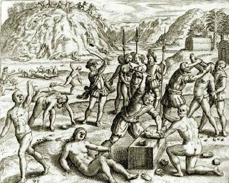15 Brutal Ways Conquistadors Killed Native People   Native american  genocide, History, Conquistador