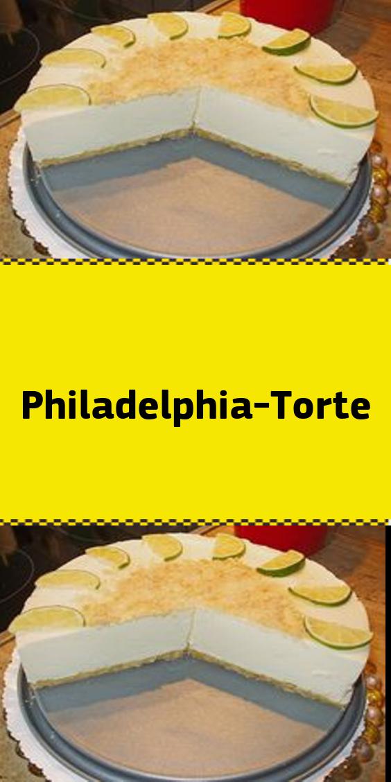 Philadelphia-Torte #löffelbiskuitrezept