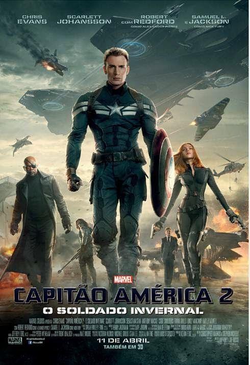 Cinema Para Sempre Capitao America 2 O Soldado Invernal Em Breve Soldado Invernal O Soldado Invernal Capitao America 2