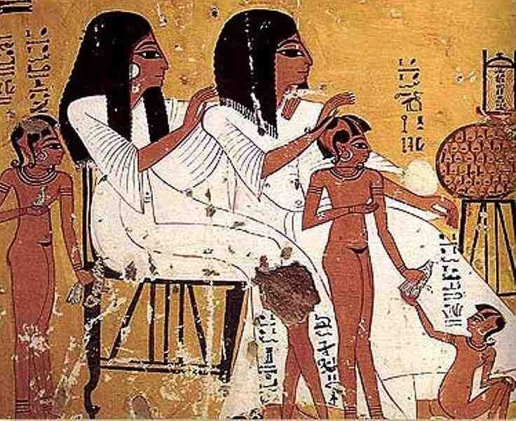 Ancient Egyptian Children Did Not Wear Clothes Until They -2082