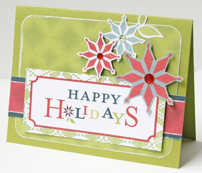 holiday card ideas from creative memories blog http