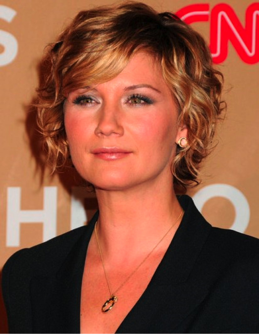Short Wavy Hair Older Women Short Curly Haircuts Short