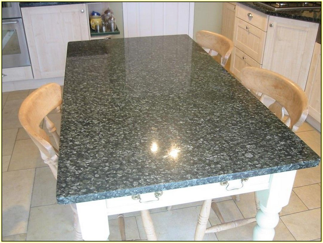 Diy Granite Kitchen Table With Images