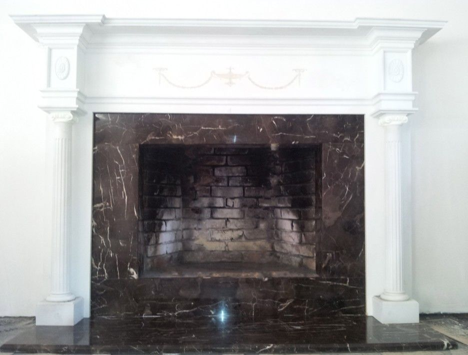 Granite Fireplace Surround Kits Home Fireplace Surrounds Marble