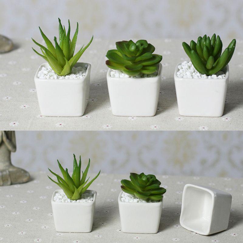Barato Top preço Frete grátis Mini indoor vasos de ...