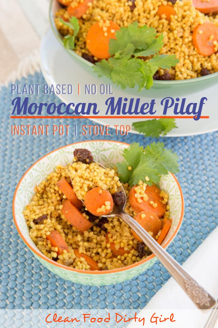 Moroccan Millet Pilaf