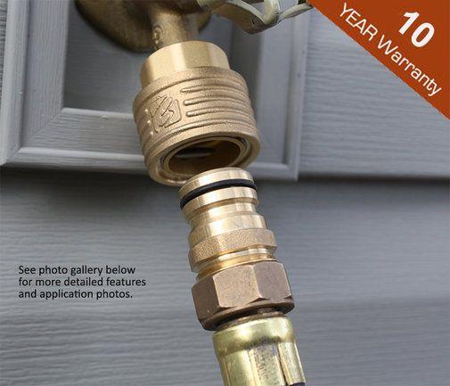 Brass Garden Hose Quick Connect Set 3 4 Quot Rapid Reel