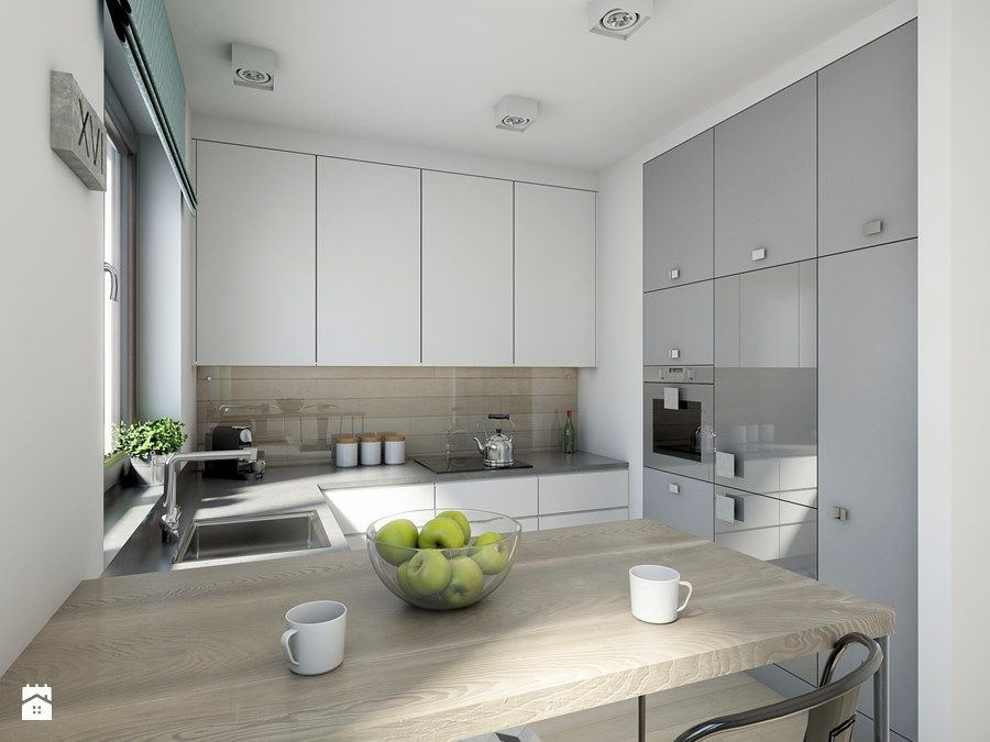 industrialnie na 48m2 - Kuchnia, styl industrialny - zdjęcie od
