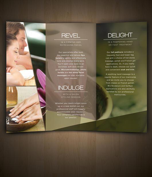 Nav Spa Brochure designed by Amanda Cohen | brochure & magazine ...