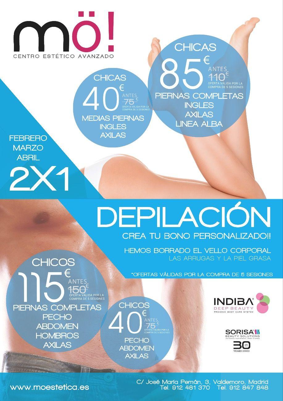 Oferta Fotodepilacion Laser En Valdemoro Mo Estetica Centro De Estetica Depilacion Fotodepilacion