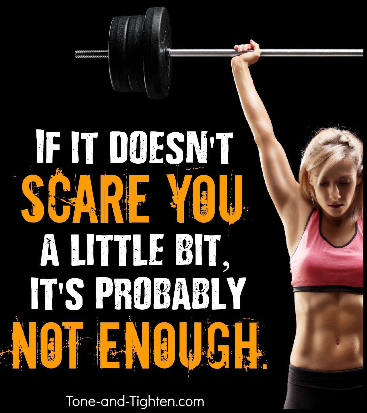 Photo of Fitness-Motivation – Wenn es Sie nicht ein bisschen erschreckt, ist es wahrscheinlich nicht genug – Übung Inspiration