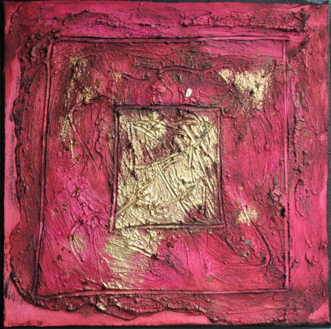Farbenergiebild Joy / Quadrat Rot #farbfeldmalerei #rothko #expressionismus #expressionism #abstrakt #abstract #art #kunst #modern #leinwand #canvas #painting #artwork #painting #gemälde #fineart