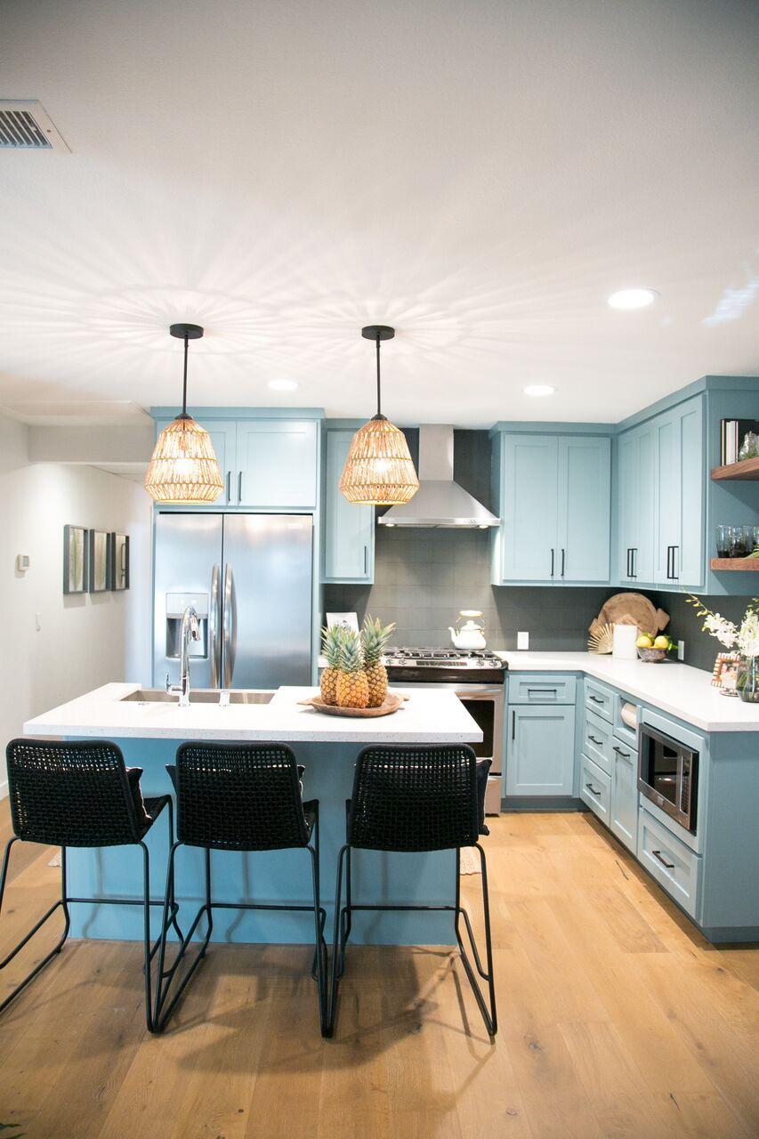 Modern Hawaiian Inspired Kitchen As Seen On Hgtv S Hiddenpotential Kitchen Design Country Kitchen Designs Kitchen Decor