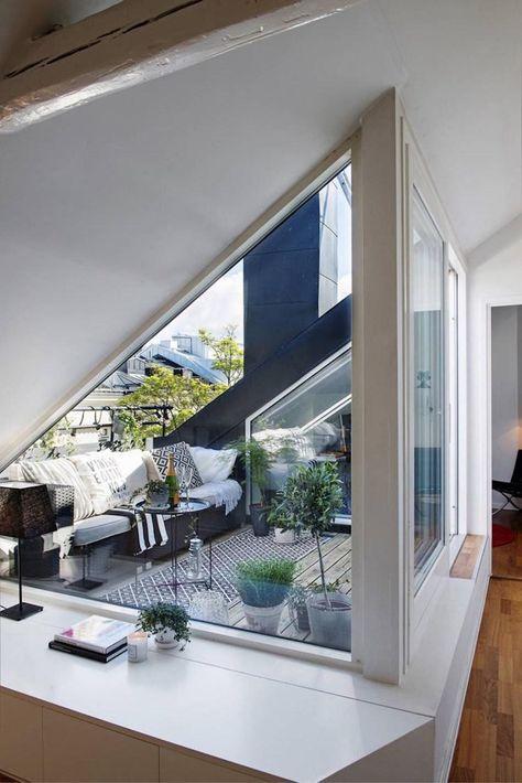 Dachterrasse gestalten und dadurch den Innenraum erweitern | Balkon ...