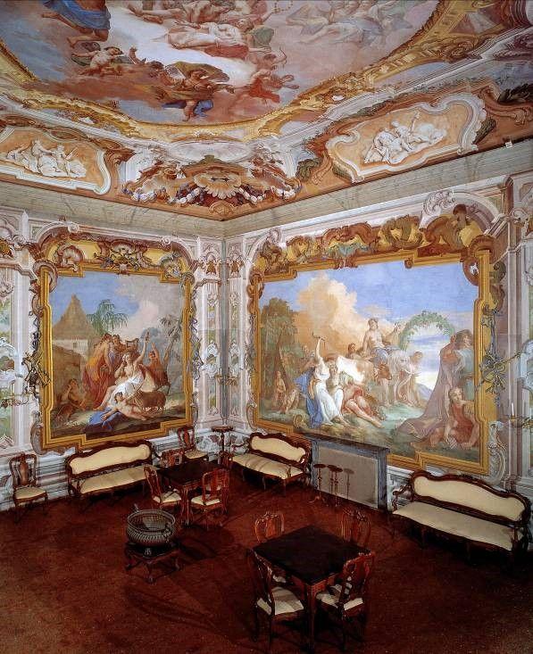 Interno villa pisani dipinti murali pinterest dipinti murali dipinti e interni - Dipinti murali per interni ...