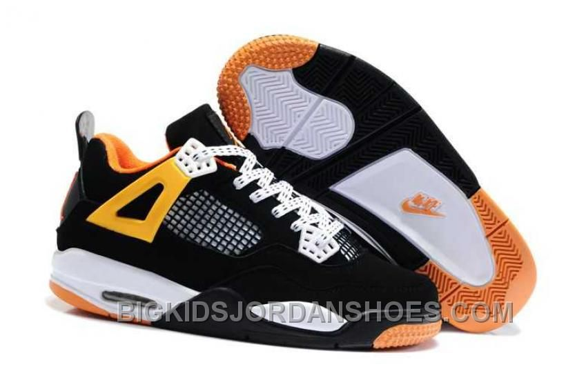 2221cf2ff46f4d ... Jordan 4 Kids Black Team Orange Tour Yellow On Sale. This domain may be  for sale! http   www.bigkidsjordanshoes.com hot-nike-air-