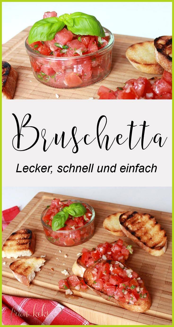 Bruschetta geht immer! Egal ob zum Grillen, als leichtes Sommergericht oder einf… #als #Bruschetta #...