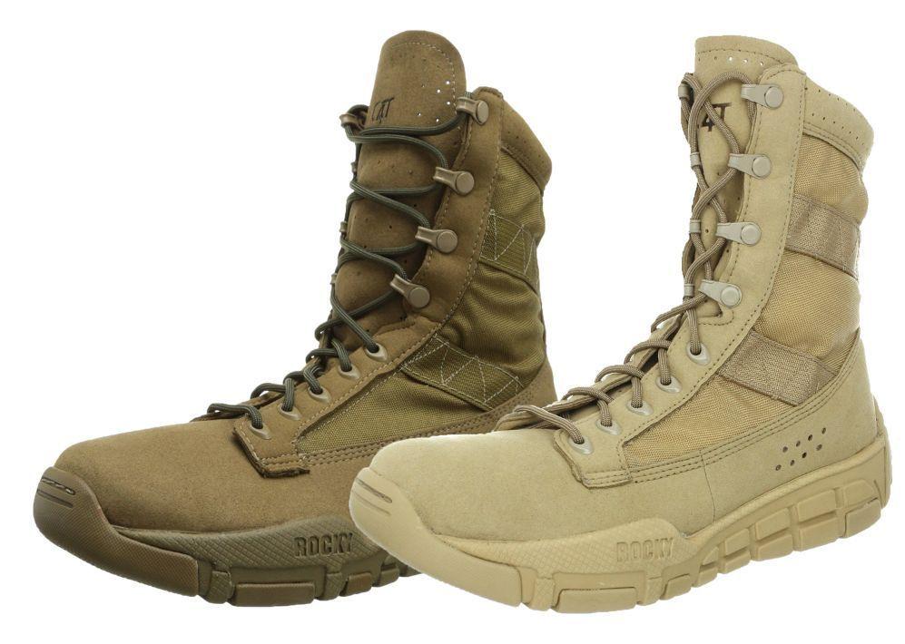 Rocky C4t Military Training Boots Desert Tan 104 Or Coyote 101 Boots Military Training Combat Boots