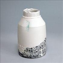 Mud Larking Bottle by Raewyn Harrison