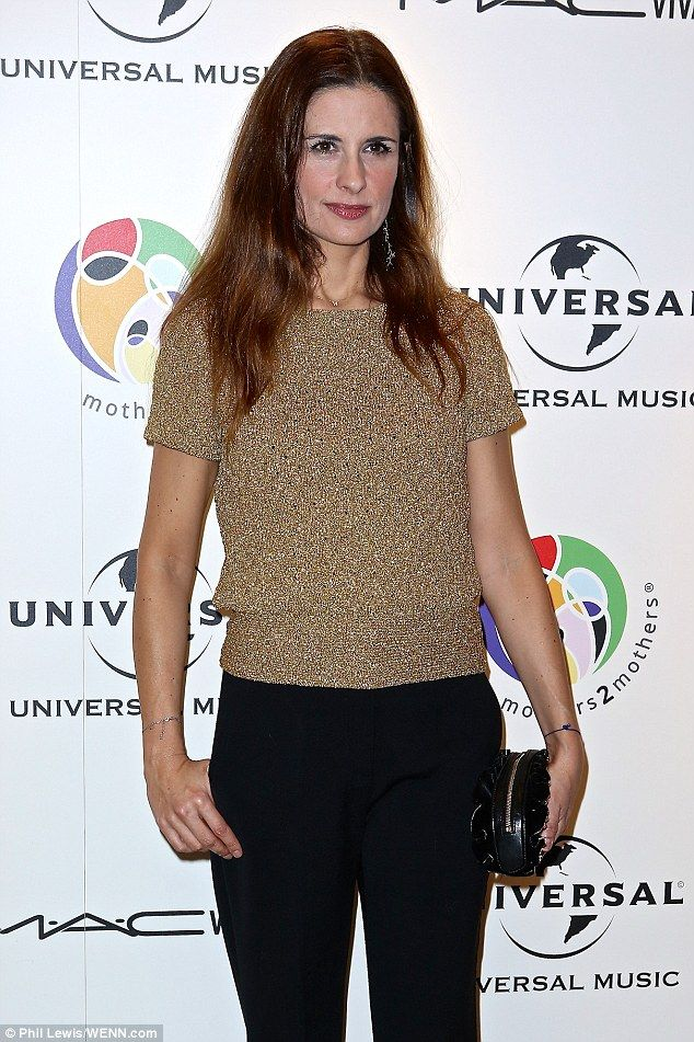 Activist: Green Carpet Challenge founder Livia Firth was there to support the cause...