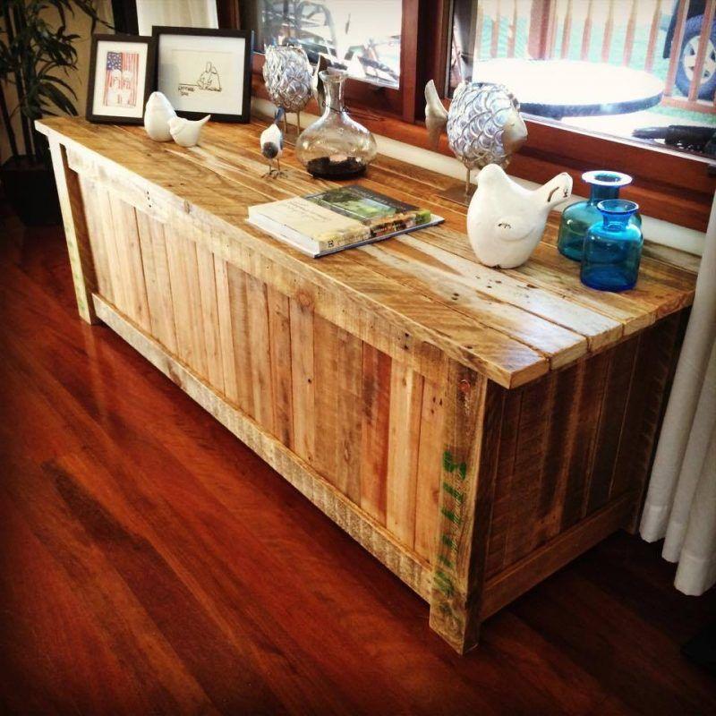 Sideboard selber bauen 49 DIY Ideen und Anleitung - küche aus paletten