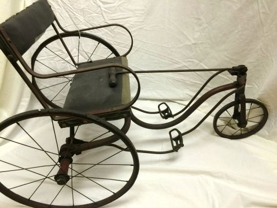 Late 19th century tricycle