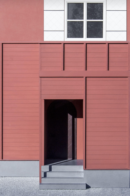 Exterior måns björnskär maison de verre la visualisation de larchitecture maquettes