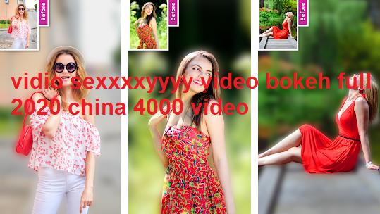 Vidio Sexxxxyyyy Video Bokeh Full  Video Di 2020