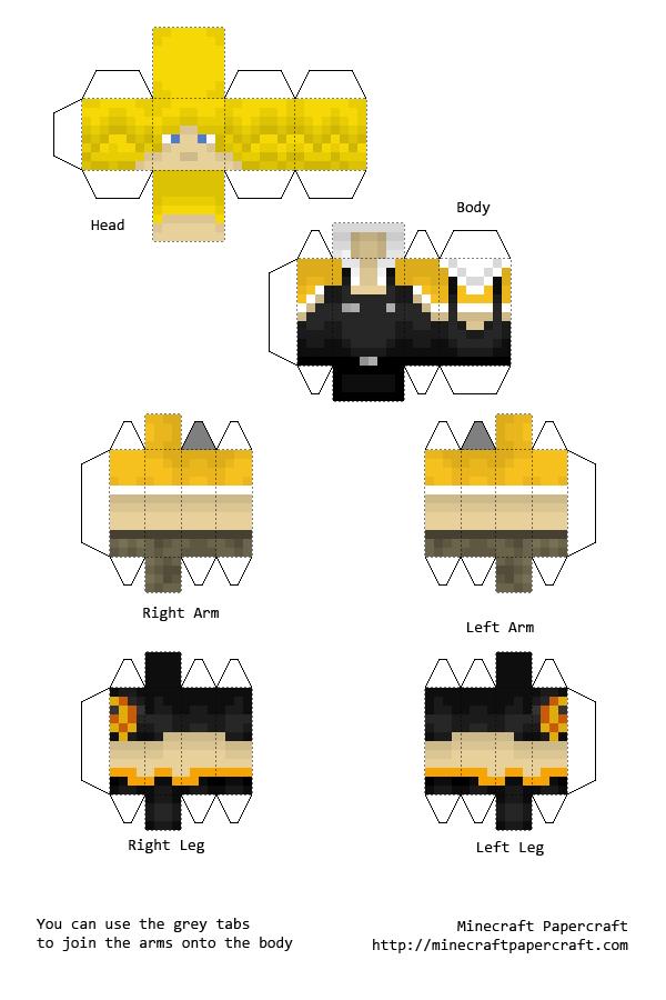Papercraft Minecraft Boy Skins Minecraft papercraft skins ...  Papercraft Mine...