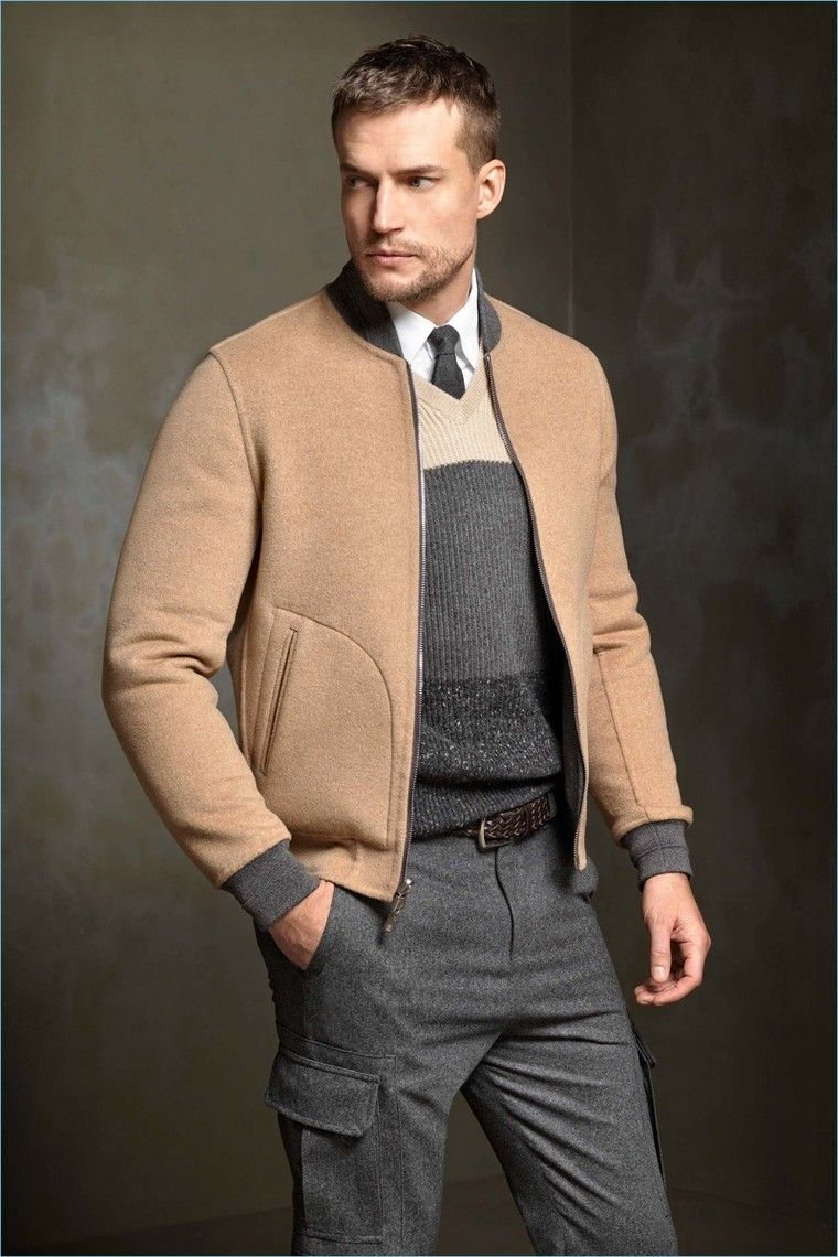 Tenue homme décontractée et stylée   quelles sont les tendances pour la  saison à venir   veste homme look tendance mode automne hiver 94073522ddd