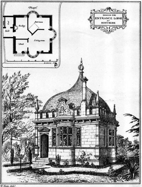 1876 – Entrance Lodge Mentmore Buckinghamshire