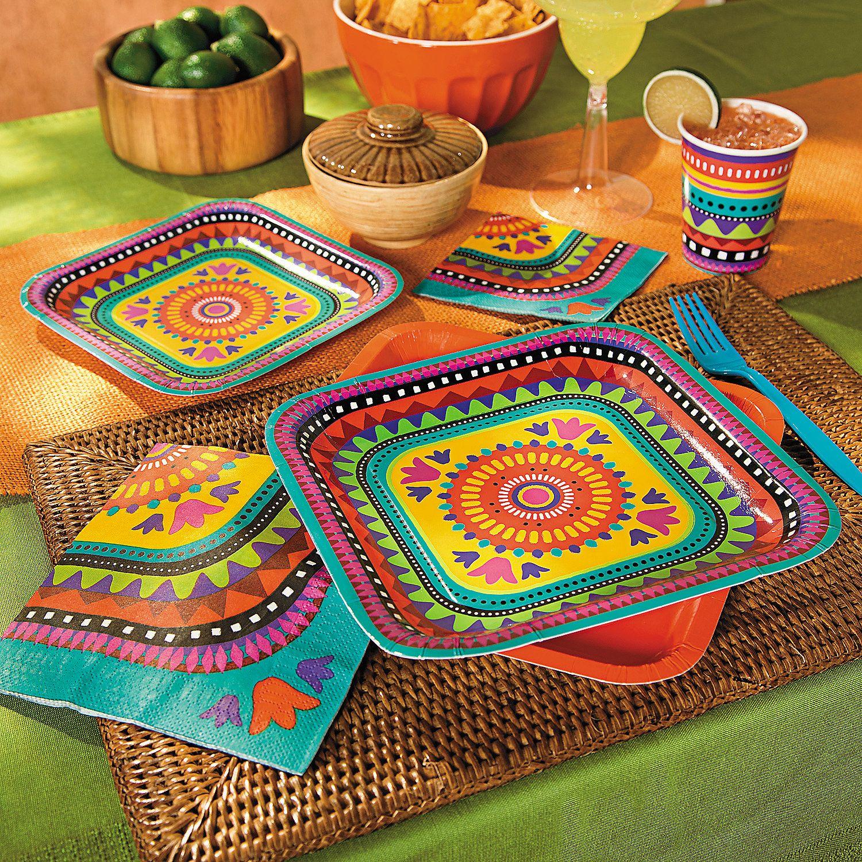 Mexican Wedding Favors Ideas: Bright Fiesta Party Supplies