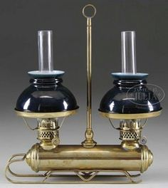 beautiful brass oil lamps antique - Google Search